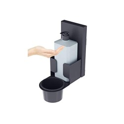 Magnet Ltd Wall Disinfectant Holder for Hand Disinfectant - Ideal Disinfectant Dispenser for Public Buildings (WDM-1)